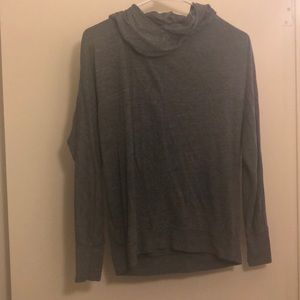 Small old navy grey light weight sweatshirt hoodie